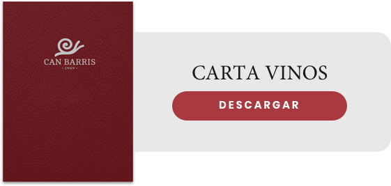 Carta vinos Can Barris